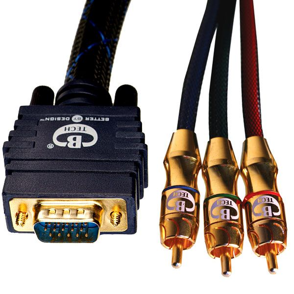 BTXL18050 Component Video to VGA (HD15) Cable