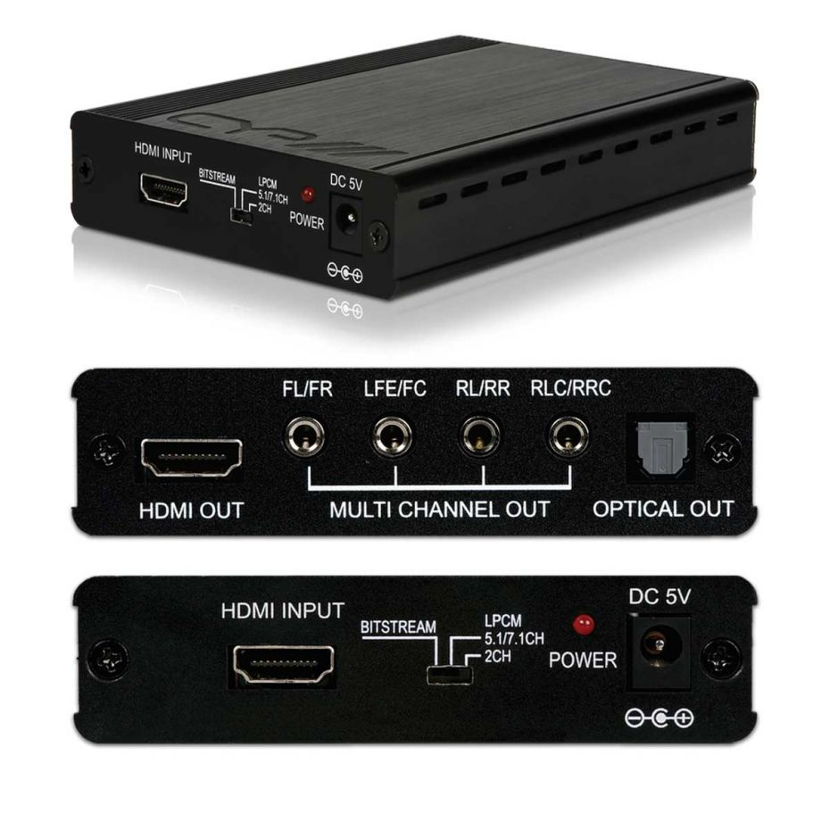 CYP AU-11SA HDMI Audio De-embedder with built in Repeater v1.3