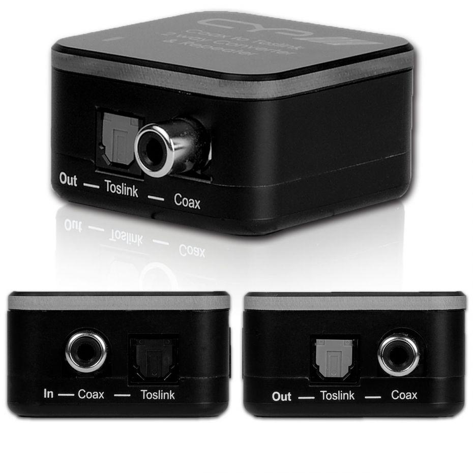 CYP AU-D2 Digital Audio Coaxial/Toslink Converter