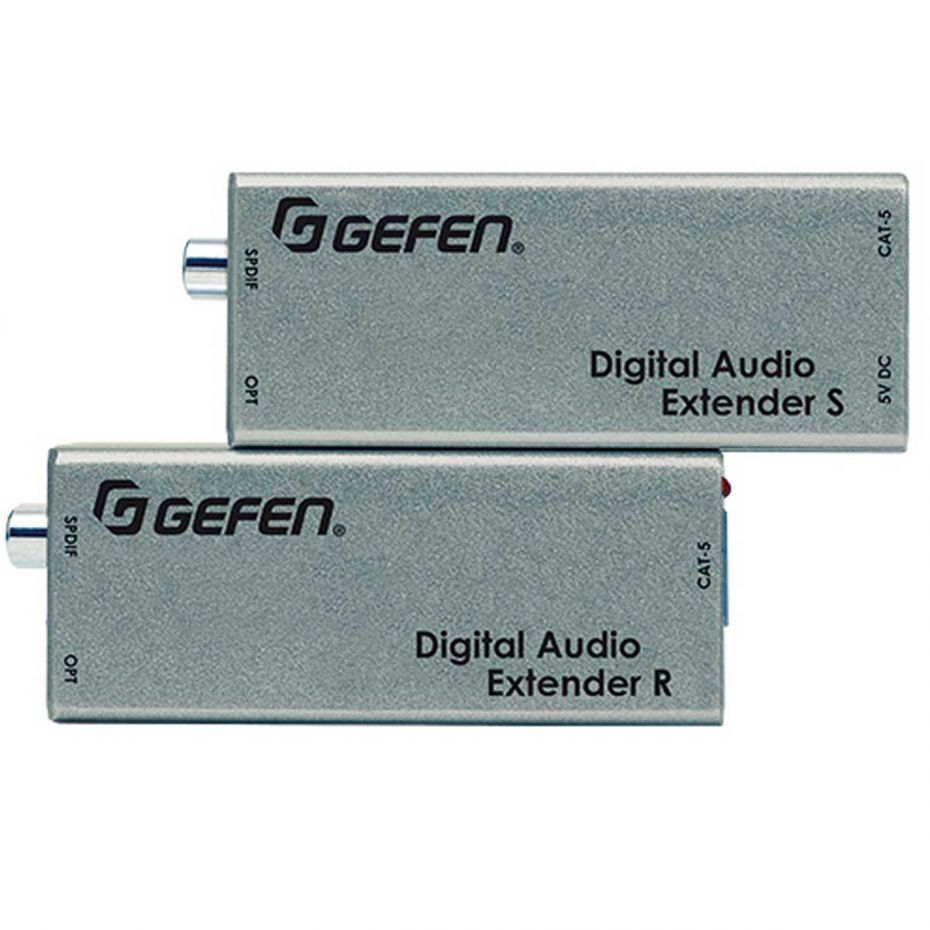 Gefen EXT-DIGAUD-141 Digital Audio Extender over one CAT-5