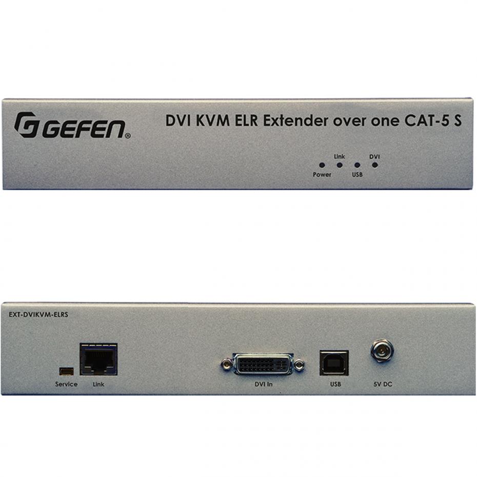 Gefen EXT-DVIKVM-ELR DVIKVM Extra Long Range Extender