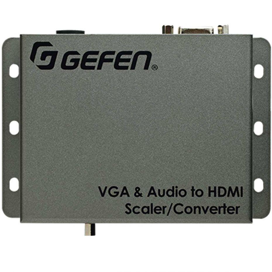 Gefen EXT-VGAA-HD-SC VGA & Audio to HD Scaler / Converter