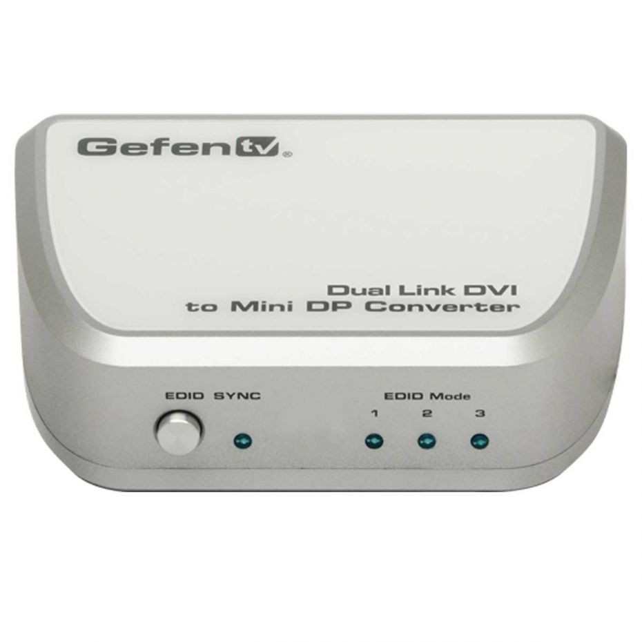 Gefen GTV-DVIDL-2-MDP TV Dual Link DVI to Mini DP Converter