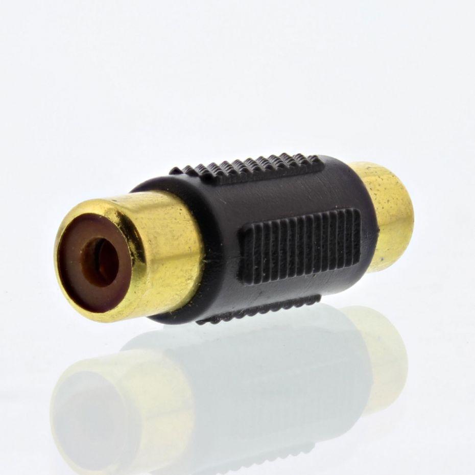 FSUK High Quality PA-9449 Female to Female RCA (Phono) Adapter