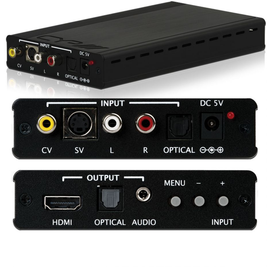 CYP SY-P295N Analogue to HDMI Converter Scaler with Audio