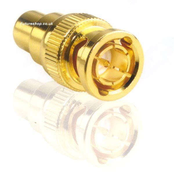FSUK High Quality RCA-BNC-HQ RCA to BNC Adapter