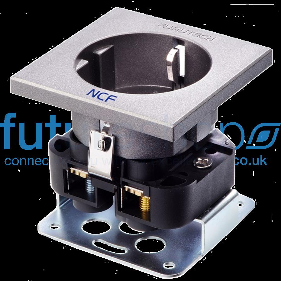 Furutech FT-SDS NCF Rhodium High End Performance NCF Schuko Socket