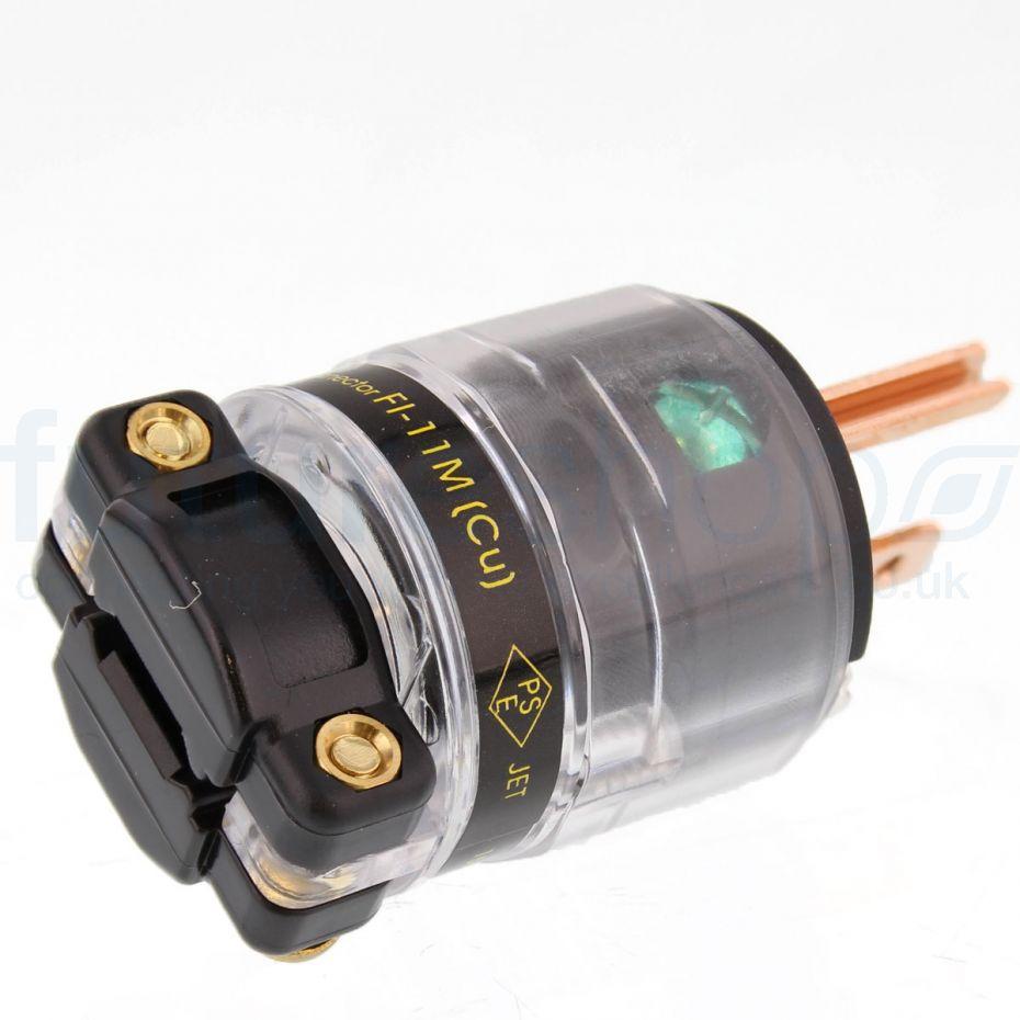 Furutech FI-11M High Performance US Power Connector - Copper