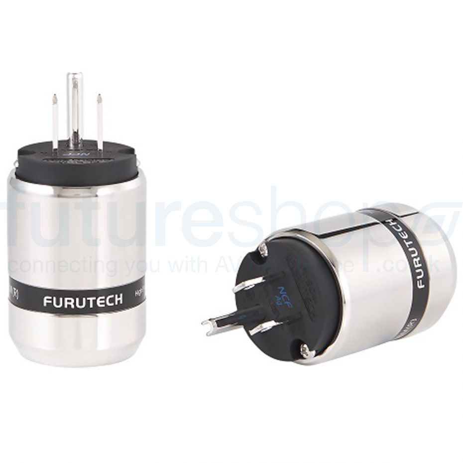 Furutech FI-48M NCF High-End Performance US Connector - Silver