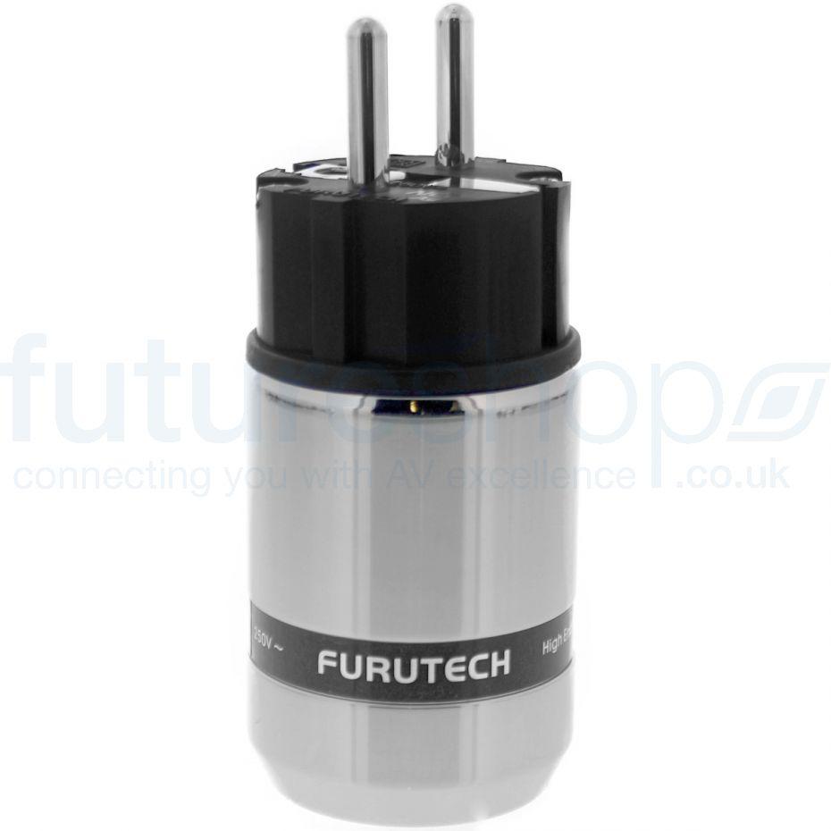 Furutech FI-E48 NCF High-End Performance Schuko Connector - Silver