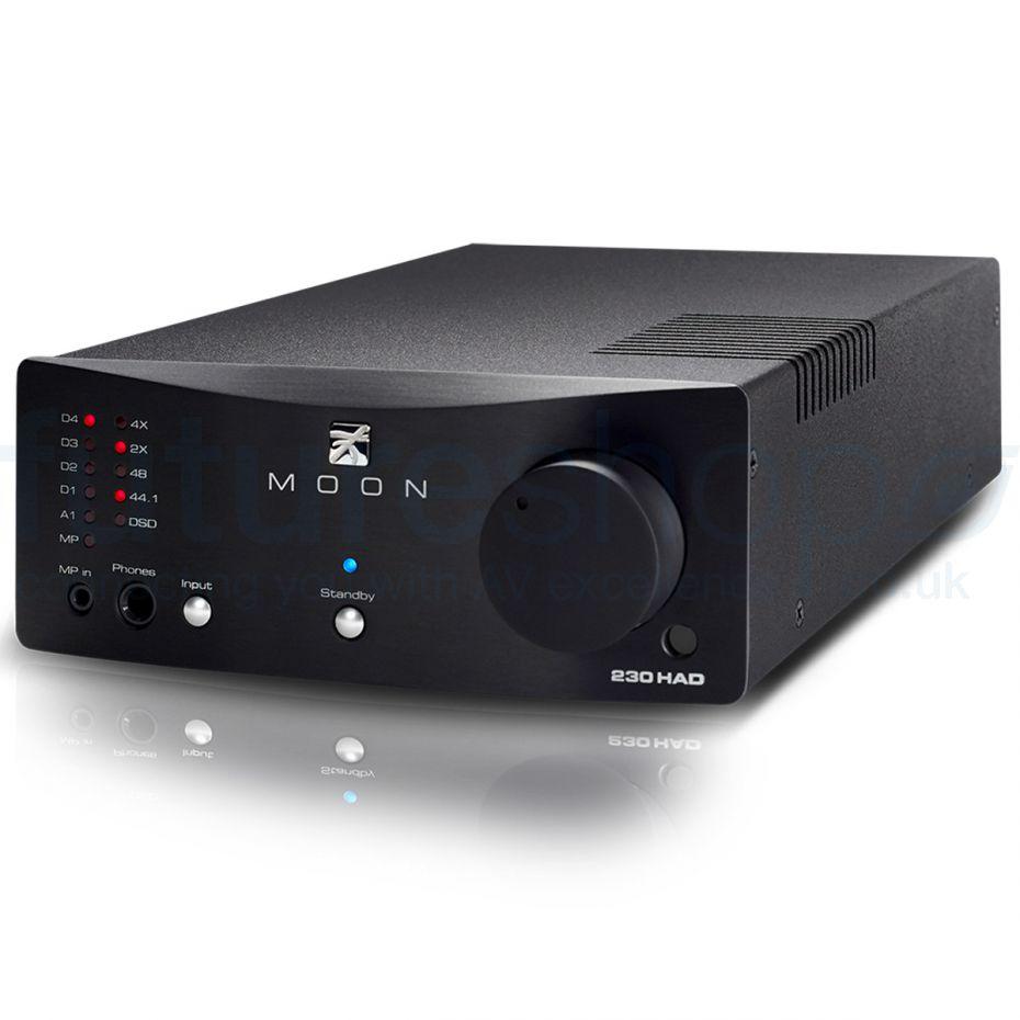 Moon by Sim Audio 230HAD Headphone Amplifier and DAC