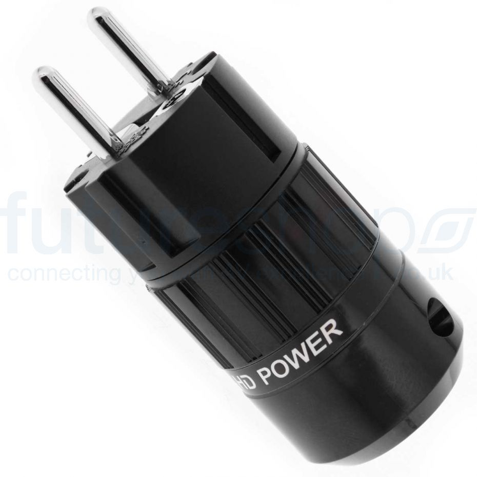 MS HD Power Audio Quality EU Schuko Plug Rhodium - MSGPRh