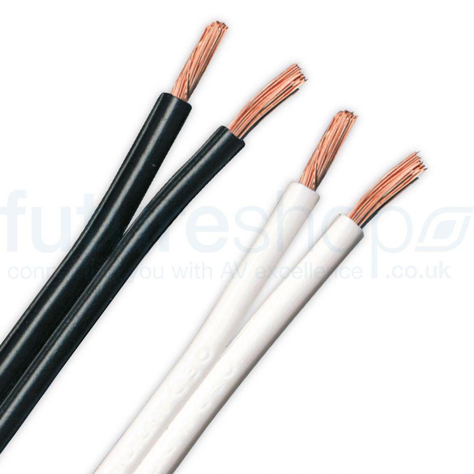 QED 79 Strand Speaker Cable Black/White