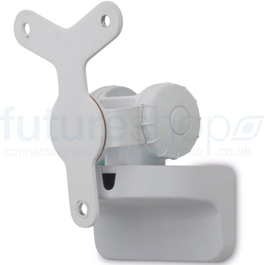 Alphason AS3001W Play:3 Tilt & Swivel Wall Bracket for Sonos - single White