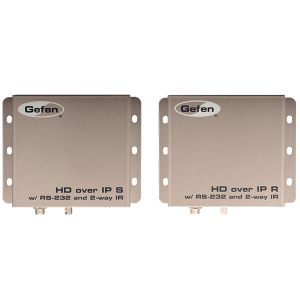 Gefen EXT-HD2IRS-LAN-RX HDMI over IP with RS-232 and Bi-Directional IR - Receiver Package