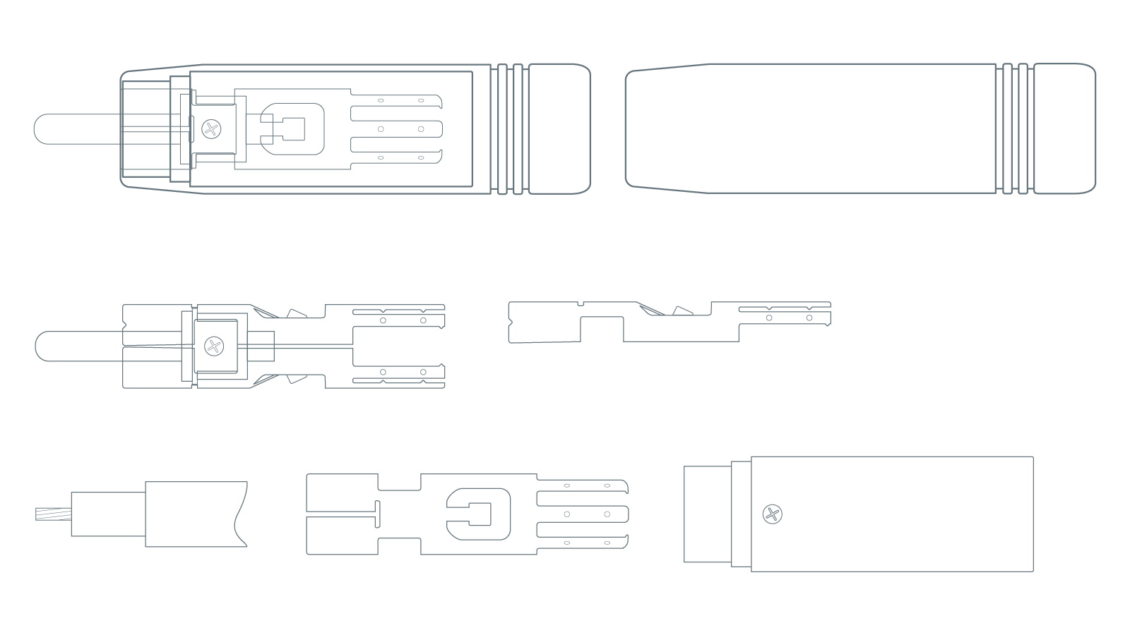 Atlas Ultra RCA Plug Technical Diagram