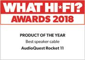 AudioQuest Rocket 11 What Hi-Fi? Award 2018