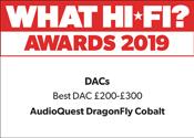 AudioQuest DragonFly Cobalt What Hi-Fi? Award 2019