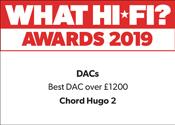 Chord Hugo 2 What Hi-Fi? Award 2019