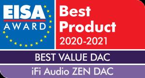 iFi Audio ZEN DAC EISA Award for Best Value DAC