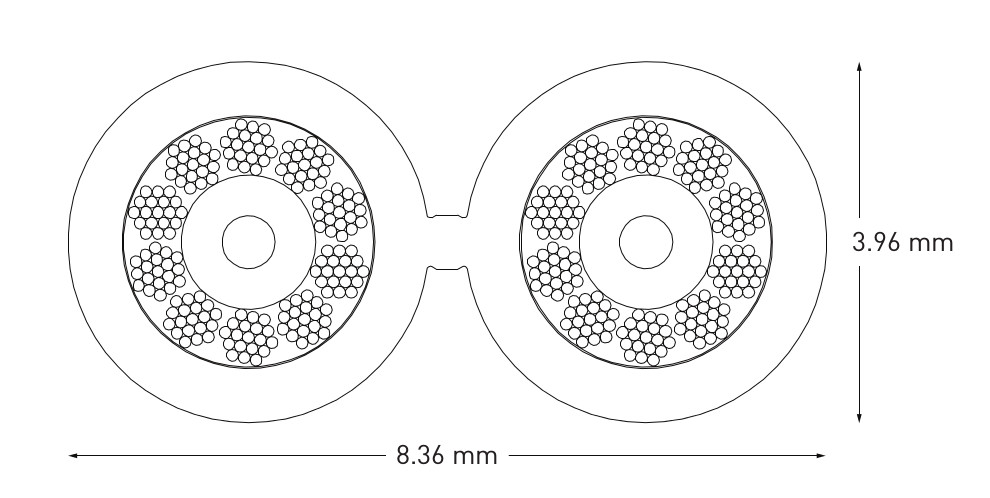 QED XT25 Speaker Cable Diagram