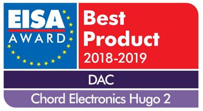 Chord Electronics EISA DAC 2018-19 Chord Electronics Hugo 2
